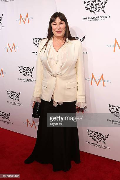 Actress Anjelica Huston attends The Humane Society Gala at Cipriani 42nd Street on November 13 2015 in New York City
