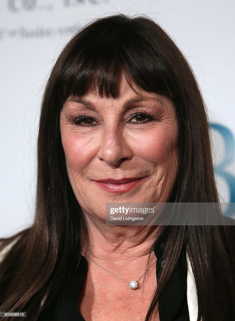 Actress Anjelica Huston attends the Talk of the Town Gala 2016 at The Beverly Hilton Hotel on November 19, 2016 in Beverly Hills, California.