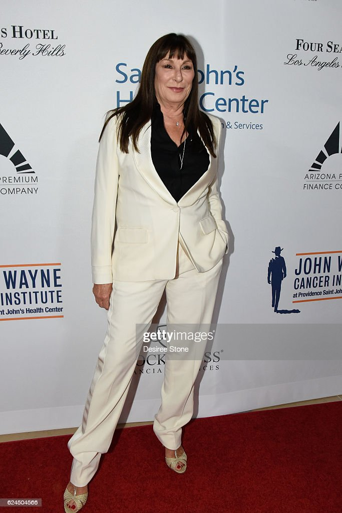 Actress Anjelica Huston attends the Talk Of The Town Gala at The Beverly Hilton Hotel on November 19, 2016 in Beverly Hills, California.