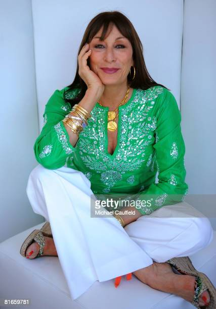 Actress Anjelica Huston of 'Choke' poses for a portrait during the 2008 CineVegas film festival held at the Palms Casino Resort on June 21 2008 in...