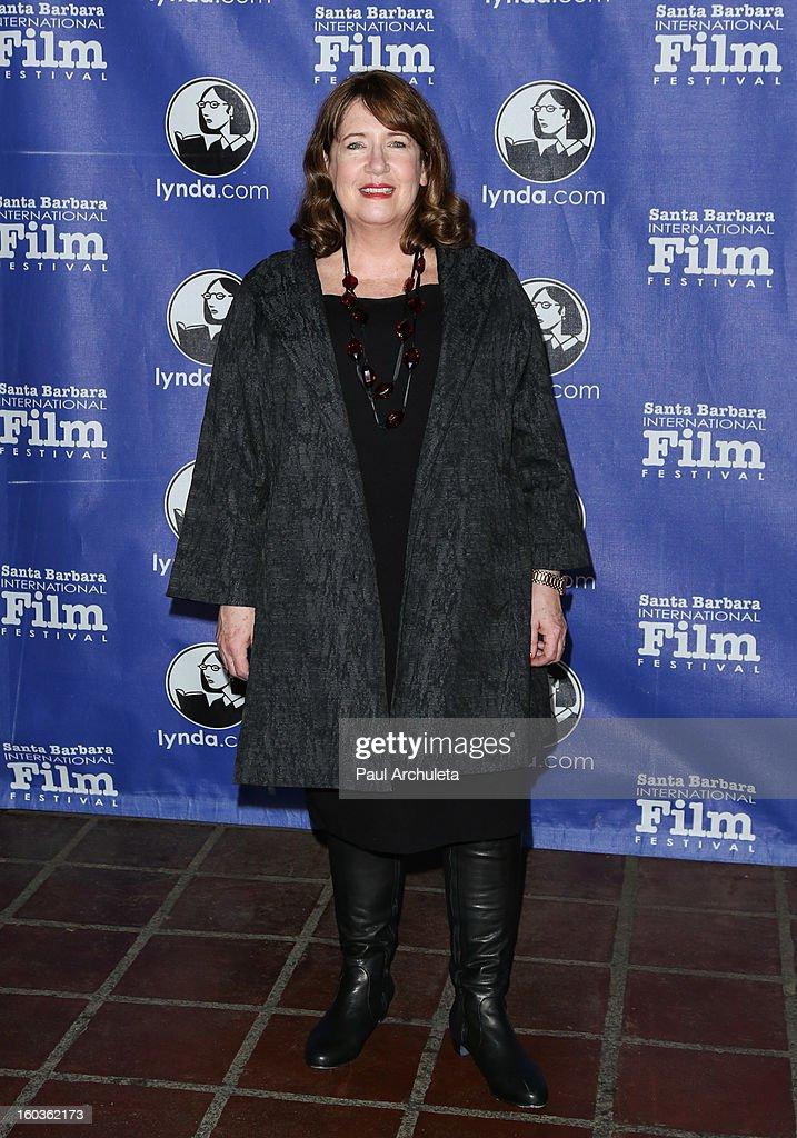 Actress Ann Dowd attends the 28th Santa Barbara International Film Festival Virtuoso Award Ceremony at The Arlington Theatre on January 29, 2013 in Santa Barbara, California.
