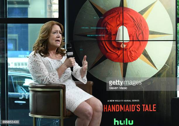 Actress Ann Dowd visit Build to discuss 'The Handmaid's Tale' 'The Leftovers' at Build Studio on June 22 2017 in New York City
