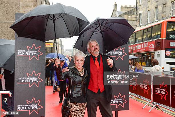 Actress Ann Louise Ross and Nils den Hertog attend the EIFF Closing Night Gala and World Premiere of 'Whisky Galore' during the 70th Edinburgh...