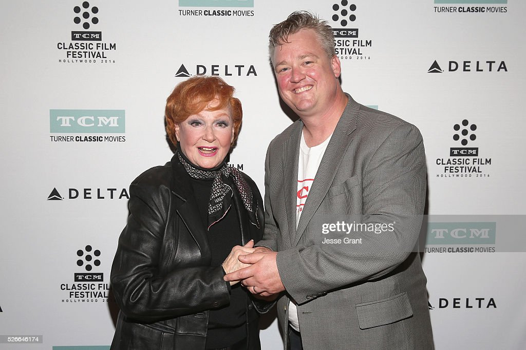 Actress Ann Robinson (L) and Director of Program Production, Studio Production & Programming Scott McGee attend 'Academy conversations: The War of the Worlds' during day 3 of the TCM Classic Film Festival 2016 on April 30, 2016 in Los Angeles, California. 25826_009