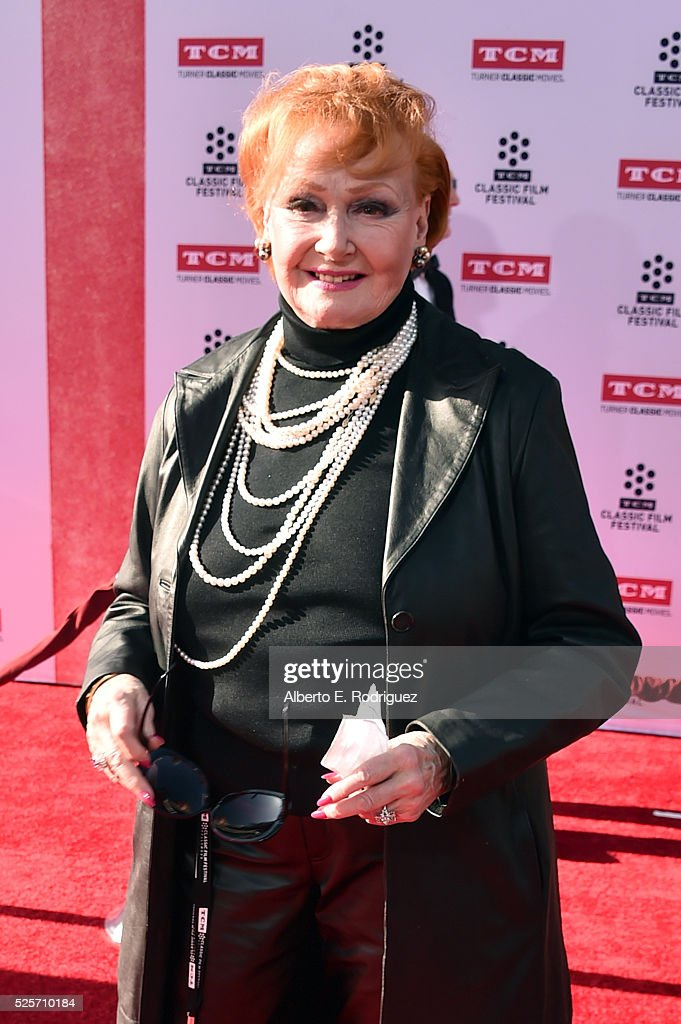 Actress Ann Robinson attends 'All The President's Premiere' during the TCM Classic Film Festival 2016 Opening Night on April 28, 2016 in Los Angeles, California. 25826_006