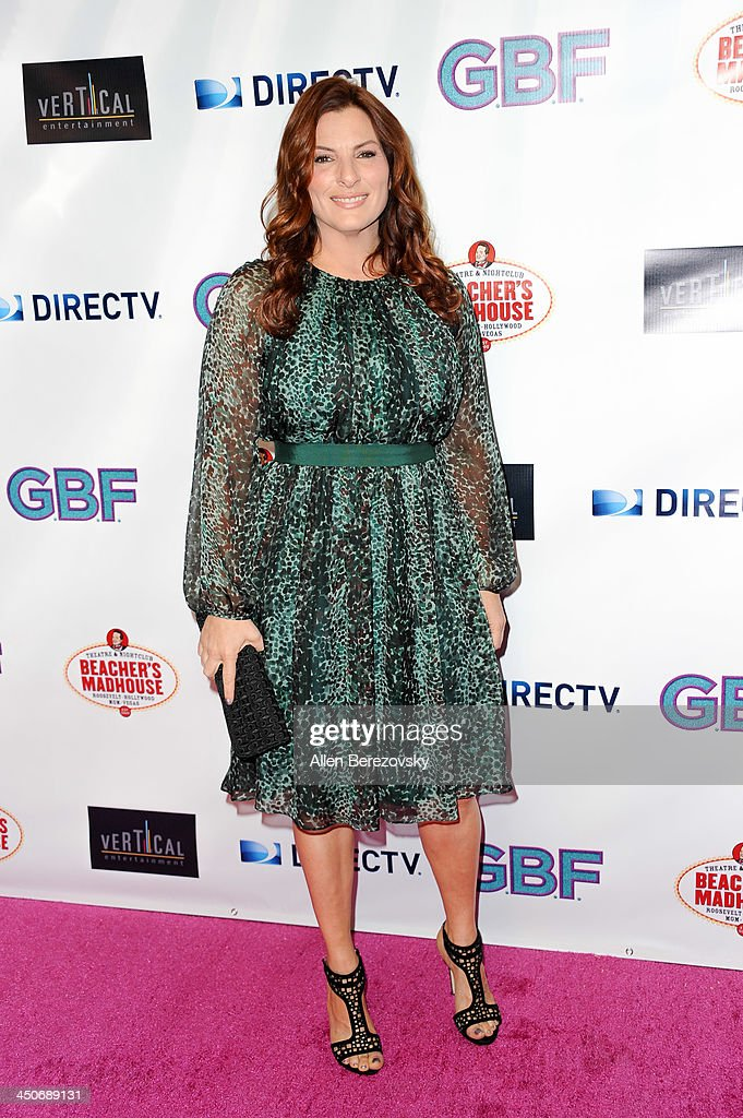 Actress Ann Russo arrives at the Los Angeles premiere of 'G.B.F.' at Chinese 6 Theater in Hollywood on November 19, 2013 in Hollywood, California.