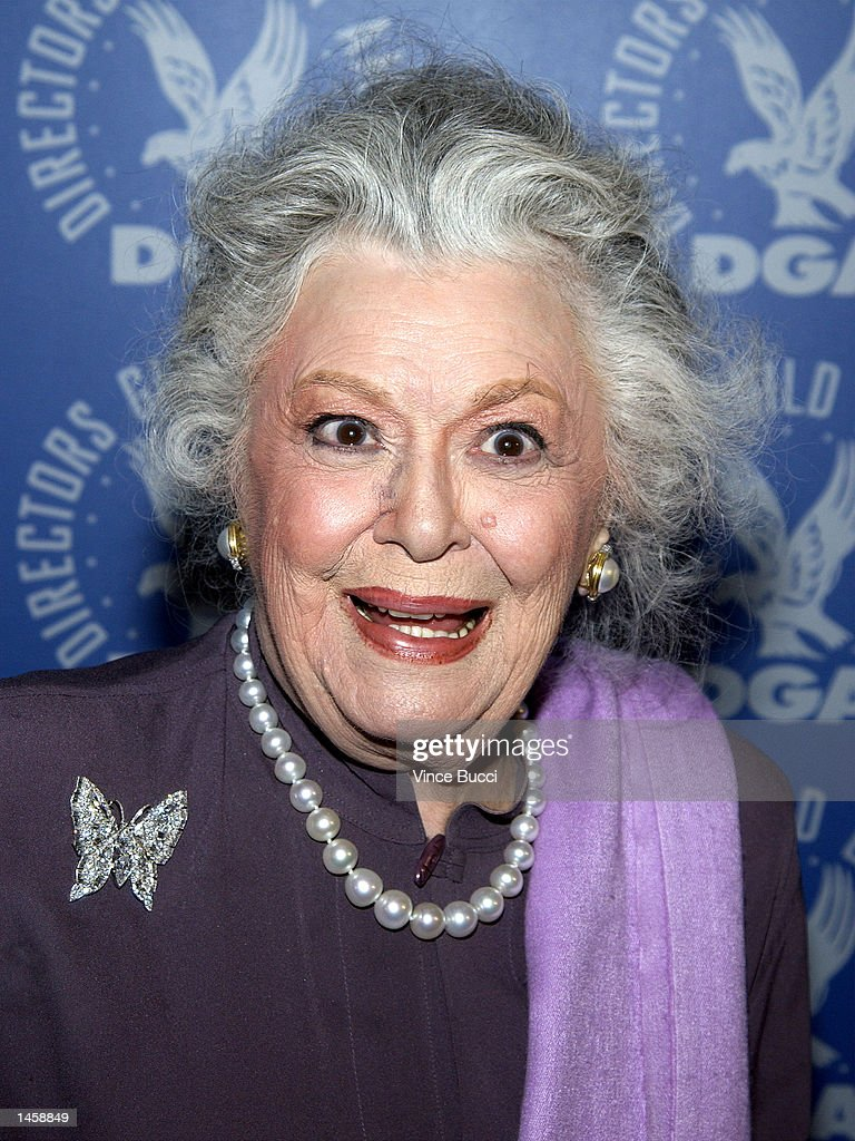 Actress Ann Rutherford attends a tribute to the career of the late director George Sidney on October 3, 2002 at the Directors Guild of America in Hollywood, California.
