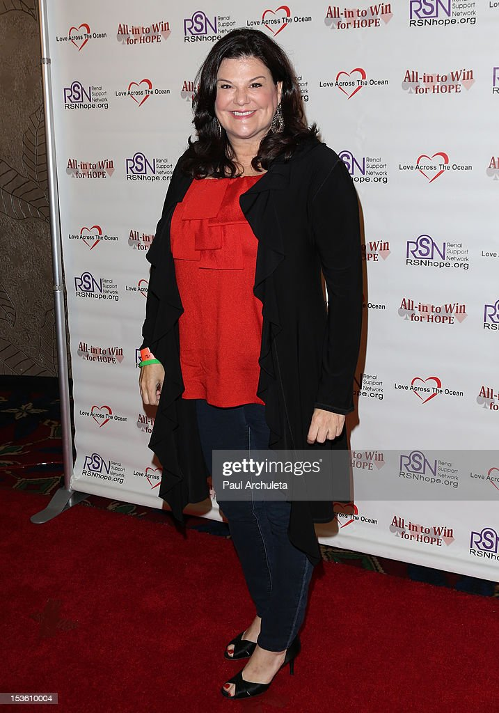Actress <a gi-track='captionPersonalityLinkClicked' href=/galleries/search?phrase=Ann+Serrano&family=editorial&specificpeople=228715 ng-click='$event.stopPropagation()'>Ann Serrano</a> attends 'In To Win For Hope' no limit Texas Hold'em celebrity charity poker tournament at The Commerce Casino on October 6, 2012 in City of Commerce, California.