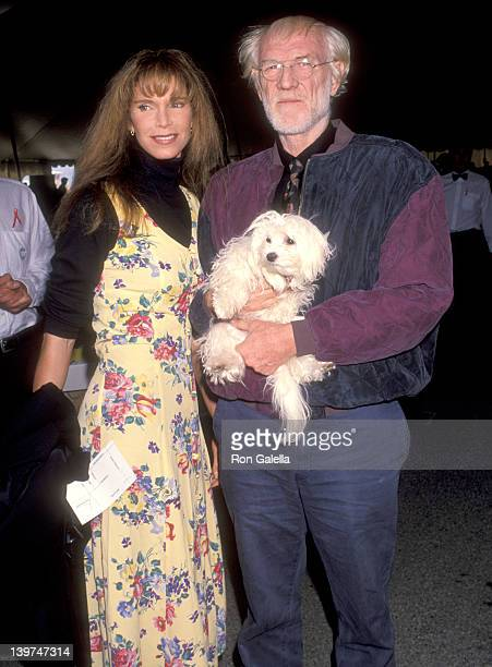 Actress Ann Turkel and Actor Richard Harris attend the Eighth Annual IFP/West Independent Spirit Awards on March 27 1993 at Santa Monica Beach in...