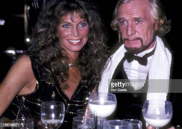 Actress Ann Turkel and Actor Richard Harris attend the Electra/Asylum Records' Party for Music Producer Richard Perry on November 2 1981 at the...