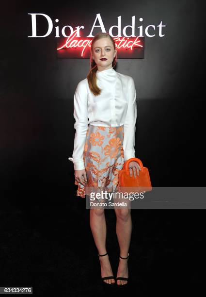 Actress Anna Baryshnikov attends Dior Beauty celebrates the launch of Dior Addict Lacquer Stick in the presence of Peter Philips in LA at Delilah on...