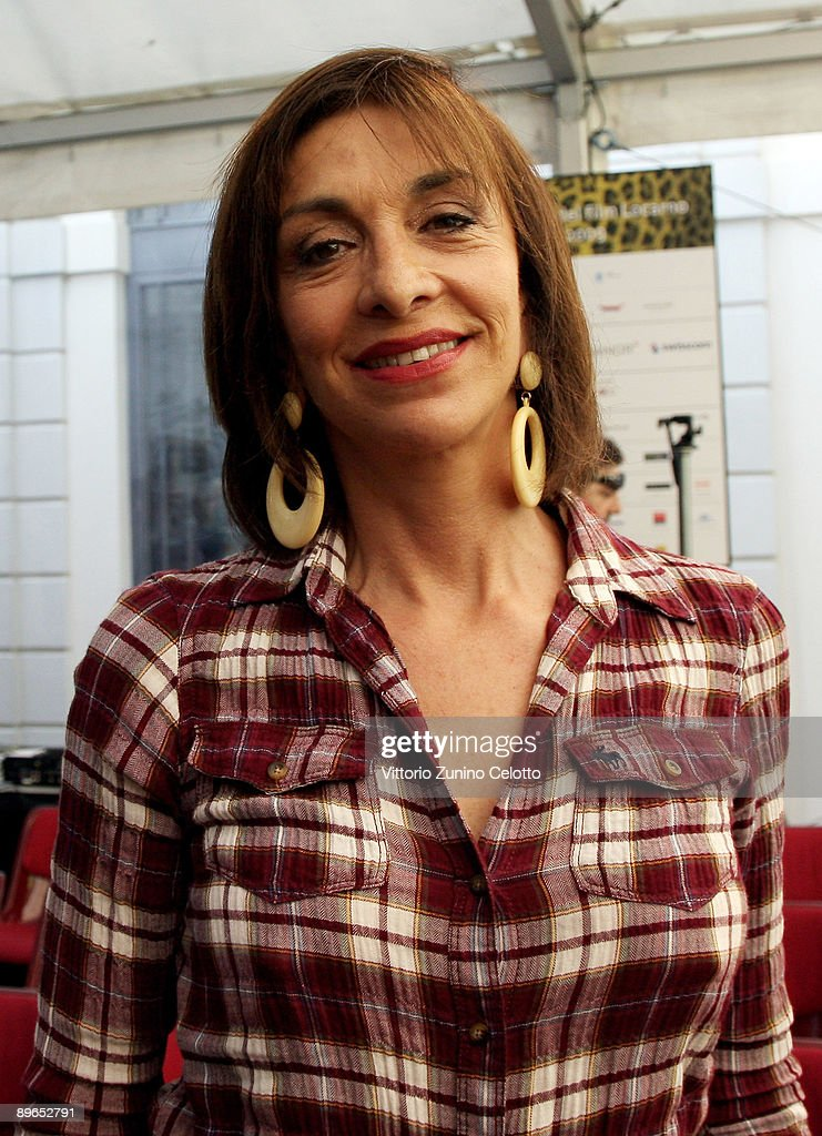 Actress Anna Bonaiuto attends the Excellence Award Press Conference during the 62nd Locarno International Film Festival on August 7 2009 in Locarno...
