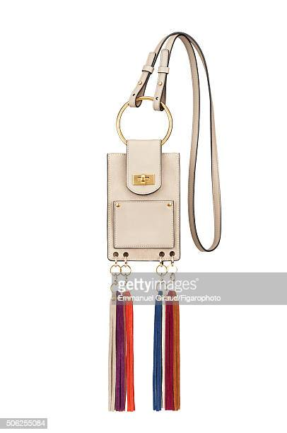 Actress Anna Brewster's style inspirations are photographed for Madame Figaro on November 20 2015 in AsnieressurSeine France Bag PUBLISHED IMAGE...