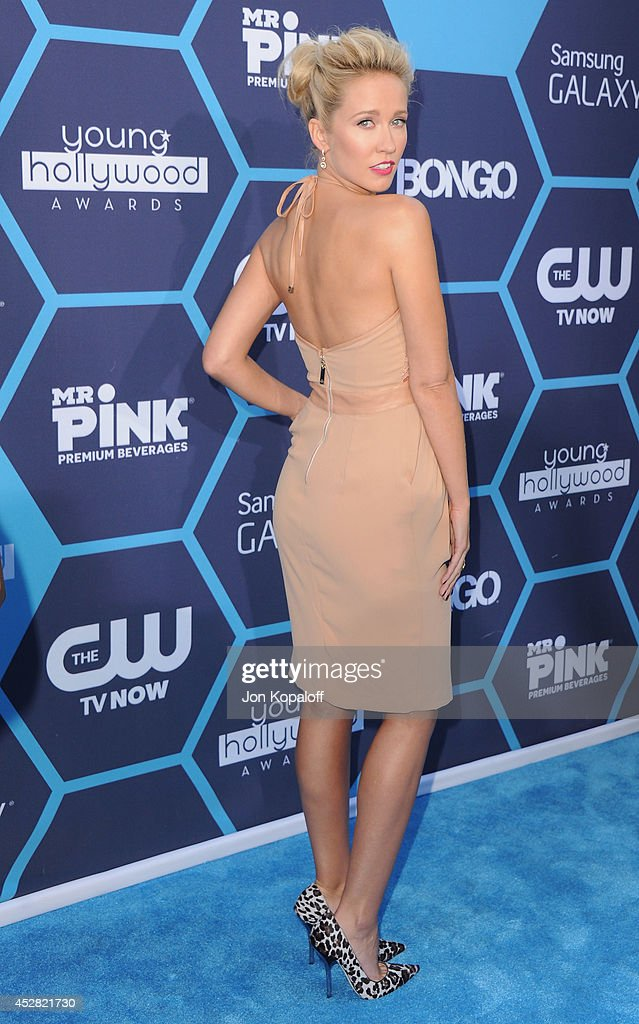 Actress Anna Camp arrives at the 16th Annual Young Hollywood Awards at The Wiltern on July 27 2014 in Los Angeles California