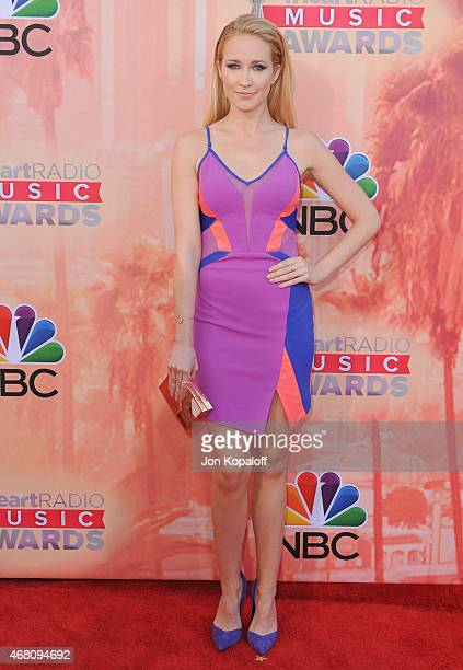 Actress Anna Camp arrives at the 2015 iHeartRadio Music Awards at The Shrine Auditorium on March 29 2015 in Los Angeles California