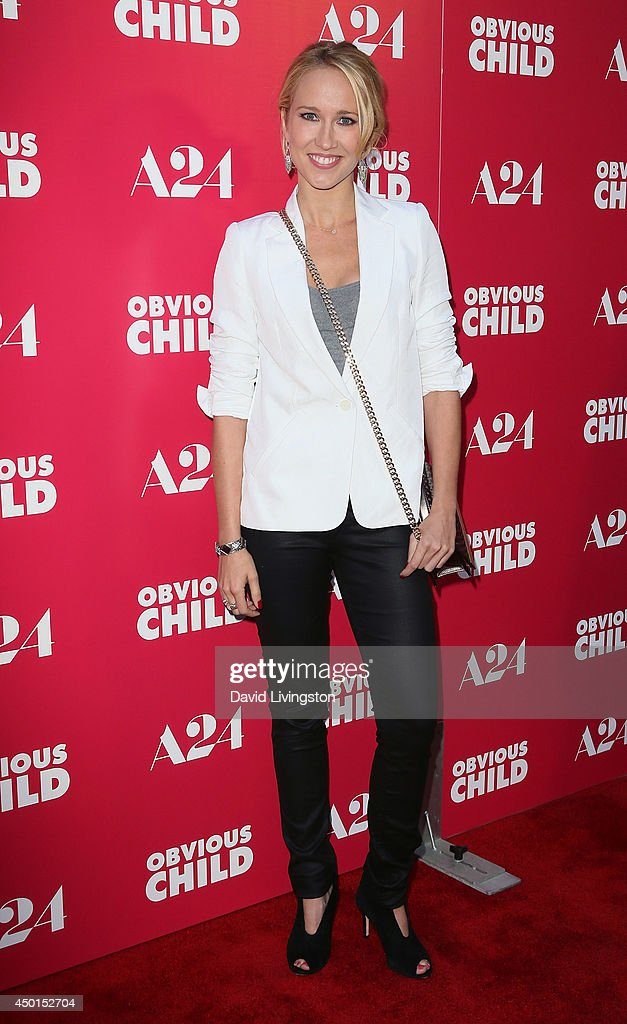 Actress Anna Camp attends a screening of A24's 'Obvious Child' at ArcLight Hollywood on June 5 2014 in Hollywood California