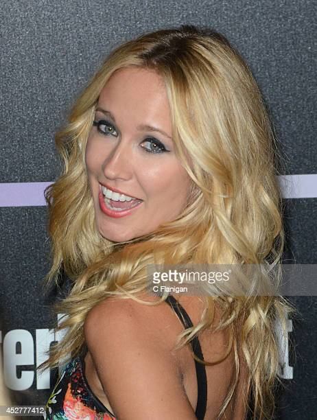 Actress Anna Camp attends Entertainment Weekly's annual ComicCon celebration at Float at Hard Rock Hotel San Diego on July 26 2014 in San Diego...