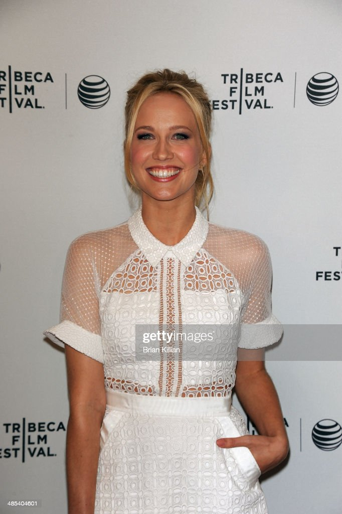 Actress Anna Camp attends 'Goodbye To All That' screening during the 2014 Tribeca Film Festival at SVA Theater on April 17 2014 in New York City