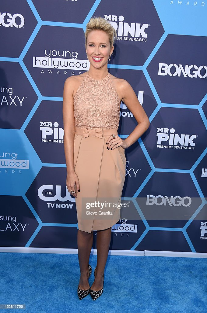 Actress Anna Camp attends the 2014 Young Hollywood Awards held at The Wiltern on July 27 2014 in Los Angeles California