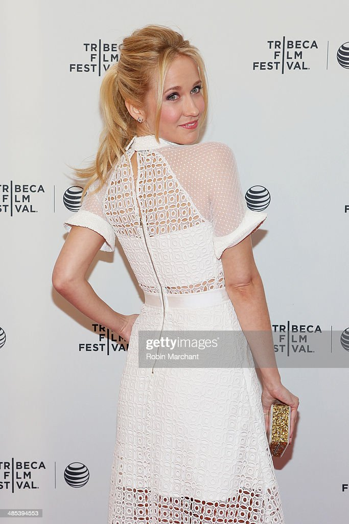 Actress Anna Camp attends the 'Goodbye To All That' Premiere during the 2014 Tribeca Film Festival at the SVA Theater on April 17, 2014 in New York City.