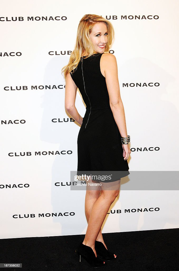 Actress <a gi-track='captionPersonalityLinkClicked' href=/galleries/search?phrase=Anna+Camp&family=editorial&specificpeople=3144642 ng-click='$event.stopPropagation()'>Anna Camp</a> attends the opening celebration of Club Monaco's Fifth Avenue Flagship at Club Monaco Fifth Avenue on November 7, 2013 in New York City.