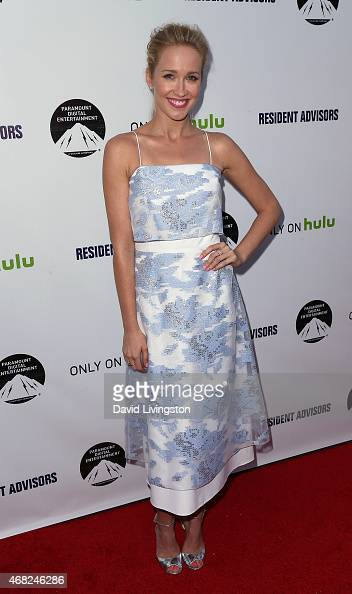 Actress Anna Camp attends the premiere of Paramount and Hulu's 'Resident Advisors' at the Sherry Lansing Theatre at Paramount Studios on March 31...