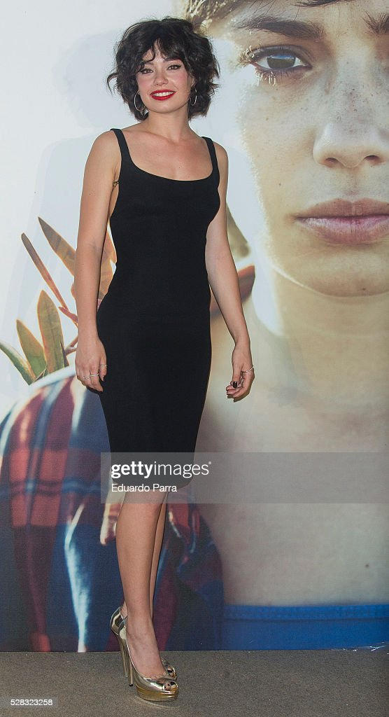 Actress Anna Castillo attends 'El olivo' premiere at Capitol cinema on May 04, 2016 in Madrid, Spain.