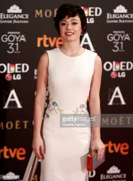 Actress Anna Castillo attends the 31th edition of the Goya Awards ceremony in Madrid Spain on February 42017