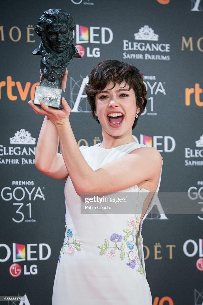 Goya Cinema Awards 2017 - Press Room