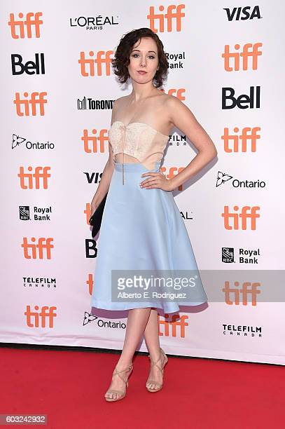Actress Anna Chazelle attends the 'La La Land' Premiere during the 2016 Toronto International Film Festival at Princess of Wales Theatre on September...
