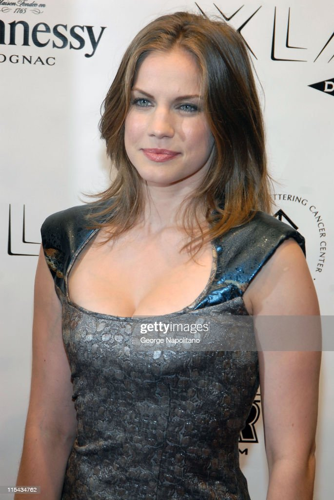 Actress Anna Chlumsky arrives at 'Stand Up For A Cure' at the Hammerstein Ballroom October 11 2007 in New York City