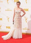 Actress Anna Chlumsky arrives at the 67th Annual Primetime Emmy Awards at Microsoft Theater on September 20 2015 in Los Angeles California