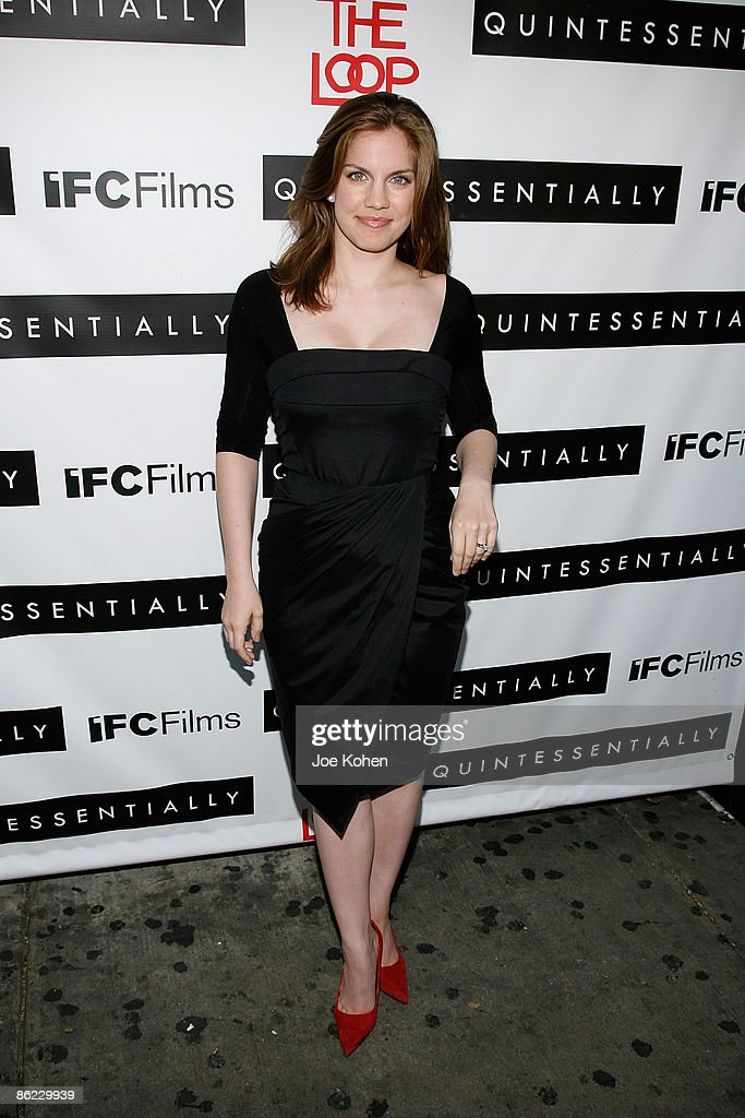 Actress Anna Chlumsky attends a screening of 'In The Loop' at the IFC Center on April 26, 2009 in New York City.