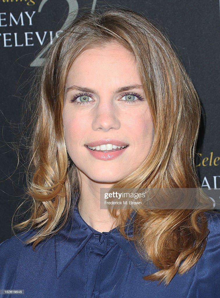 Actress Anna Chlumsky attends BAFTA LA TV Tea 2012 Presented By BBC America at The London Hotel Hollywood on September 22, 2012 in West Hollywood, California.