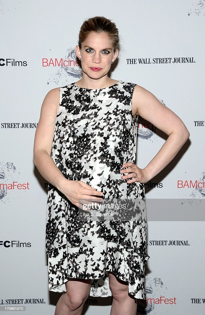 Actress Anna Chlumsky attends BAMcinemaFest 2013 and The Cinema Society host the Opening Night premiere of 'Ain't Them Bodies Saints' at BAM Harvey...