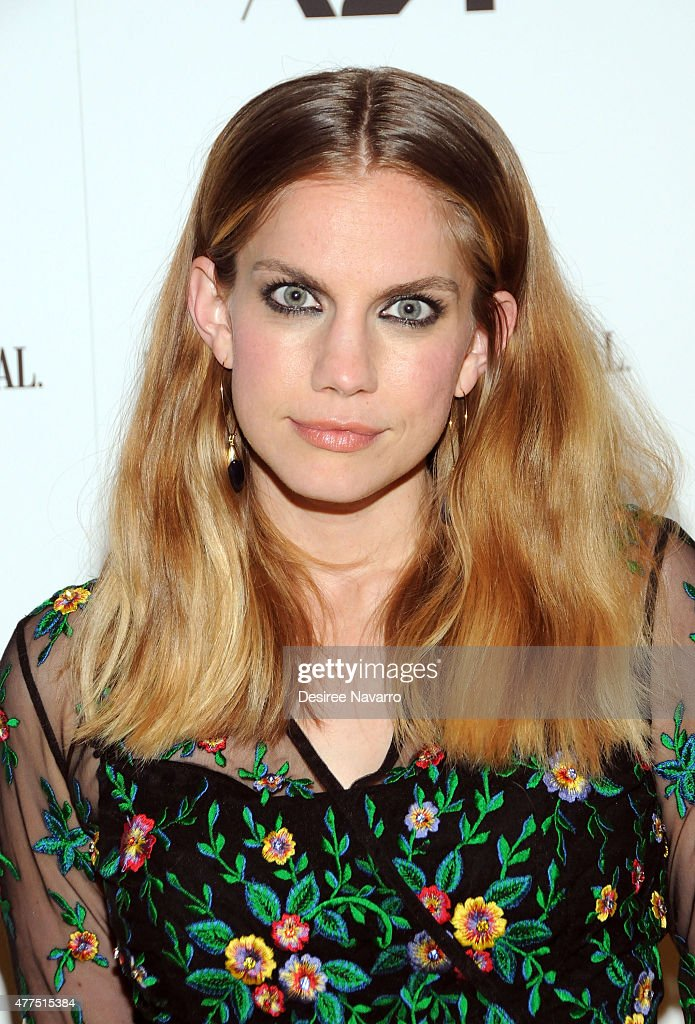 Actress Anna Chlumsky attends BAMcinemaFest 2015 'The End Of Tour' opening night screening at BAM Howard Gilman Opera House on June 17 2015 in New...