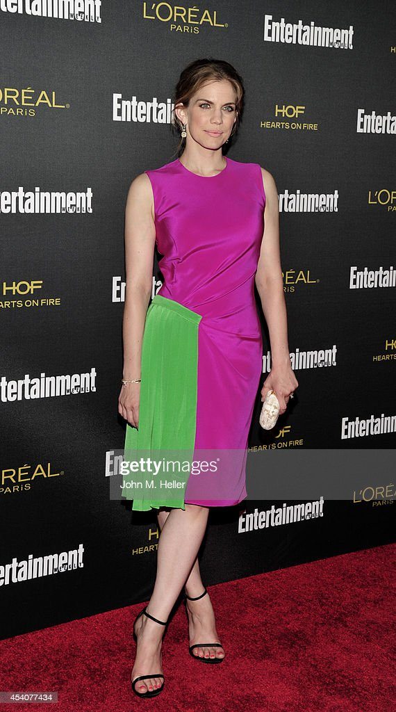 Actress Anna Chlumsky attends Entertainment Weekly's Pre-Emmy Party at Fig & Olive on Melrose Place on August 23, 2014 in West Hollywood, California.
