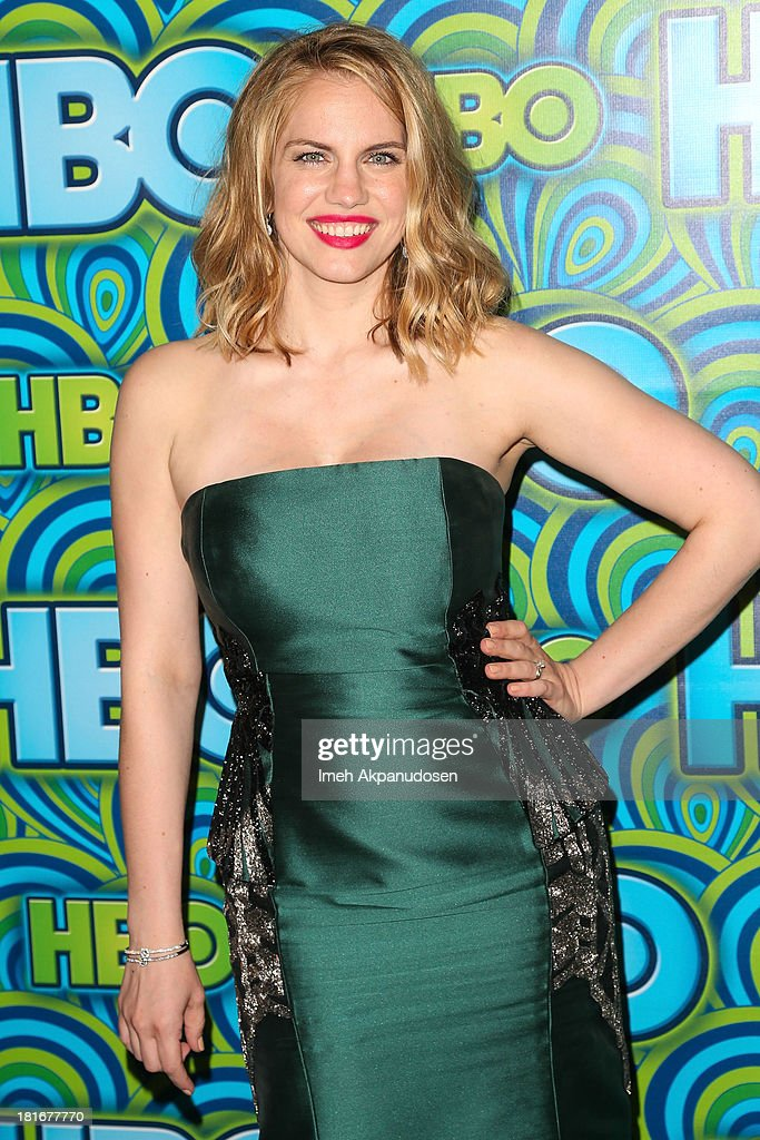 Actress Anna Chlumsky attends HBO's Annual Primetime Emmy Awards Post Award Reception at The Plaza at the Pacific Design Center on September 22, 2013 in Los Angeles, California.