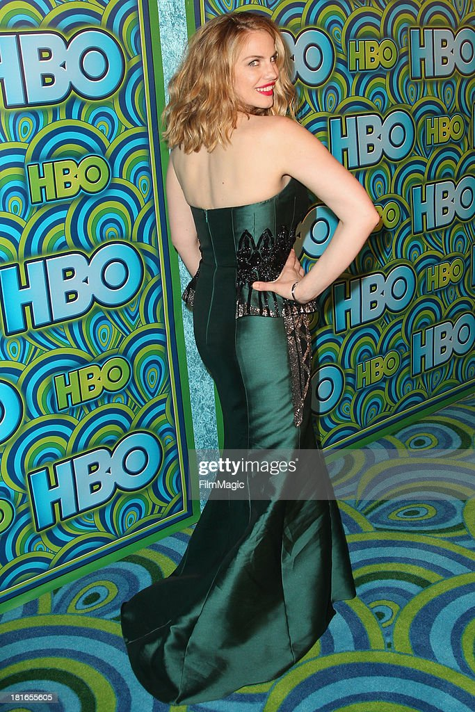 Actress Anna Chlumsky attends HBO's official Emmy After Party at The Plaza at the Pacific Design Center on September 22, 2013 in Los Angeles, California.