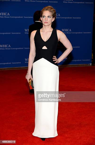 Actress Anna Chlumsky attends the 100th Annual White House Correspondents' Association Dinner at the Washington Hilton on May 3 2014 in Washington DC