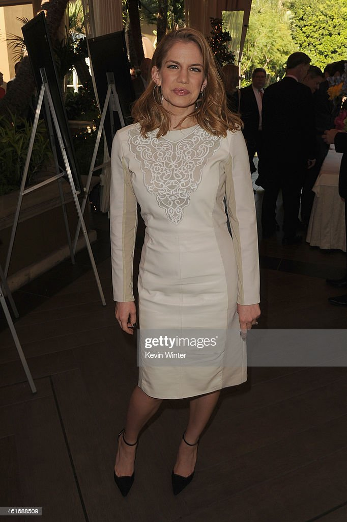 Actress Anna Chlumsky attends the 14th annual AFI Awards Luncheon at the Four Seasons Hotel Beverly Hills on January 10, 2014 in Beverly Hills, California.