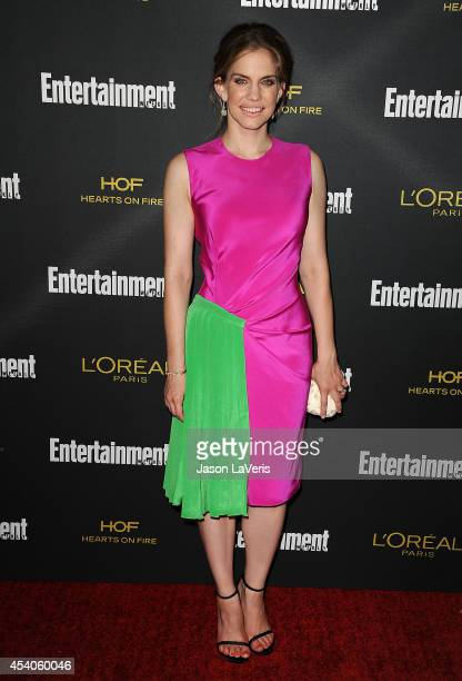 Actress Anna Chlumsky attends the 2014 Entertainment Weekly preEmmy party at Fig Olive Melrose Place on August 23 2014 in West Hollywood California