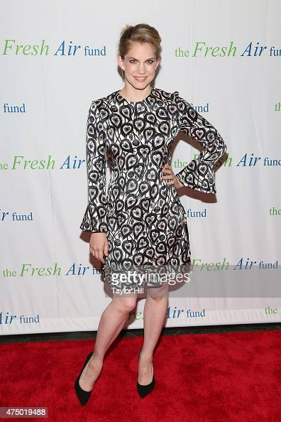 Actress Anna Chlumsky attends the 2015 Fresh Air Fund's Salute To American Heroes at Pier Sixty at Chelsea Piers on May 28 2015 in New York City
