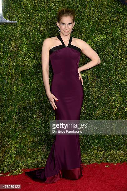 Actress Anna Chlumsky attends the 2015 Tony Awards at Radio City Music Hall on June 7 2015 in New York City