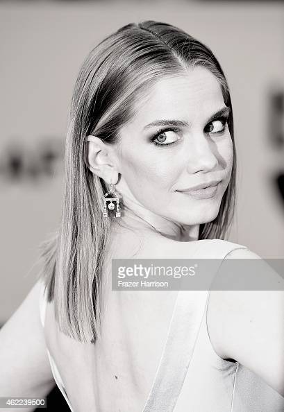 Actress Anna Chlumsky attends the 21st Annual Screen Actors Guild Awards at The Shrine Auditorium on January 25 2015 in Los AngelesCalifornia