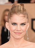 Actress Anna Chlumsky attends The 22nd Annual Screen Actors Guild Awards at The Shrine Auditorium on January 30 2016 in Los Angeles California...