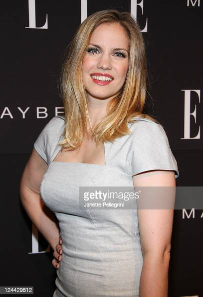 Actress Anna Chlumsky attends the 2nd Annual ELLE Fashion Next Presentation at the David Koch Theatre at Lincoln Center on September 9 2011 in New...