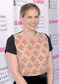 Actress Anna Chlumsky attends the 4th Annual Women Making History Brunch presented by the National Women's History Museum and Glamour Magazine at...