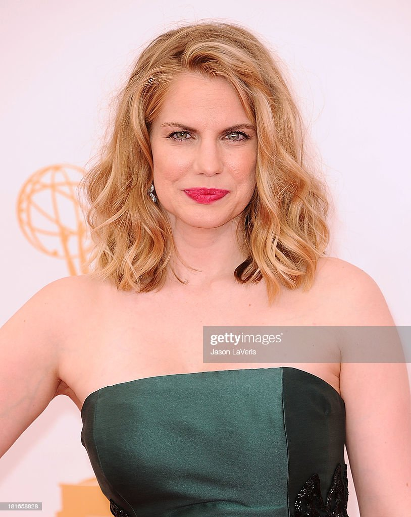 Actress Anna Chlumsky attends the 65th annual Primetime Emmy Awards at Nokia Theatre L.A. Live on September 22, 2013 in Los Angeles, California.