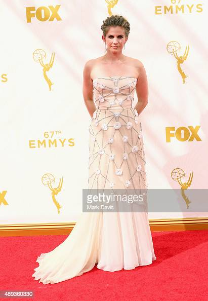 Actress Anna Chlumsky attends the 67th Annual Primetime Emmy Awards at Microsoft Theater on September 20 2015 in Los Angeles California